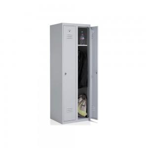 Garderobenschrank 2 Abteile 1800x600x500mm