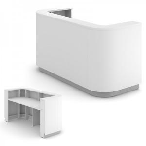 Banque d'accueil compact pour une personne 1025x2000x800mm