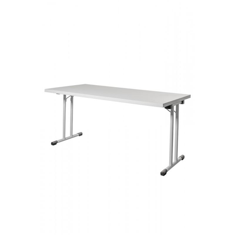 Table pliante piétement en T 740x1600x800mm