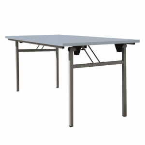 Table pliante piétement en H 740x1600x800mm