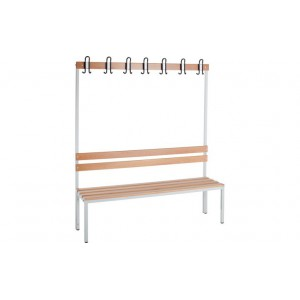 Banc vestiaire simple 1700x1500x400mm