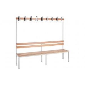 Banc vestiaire simple 1700x2000x400mm