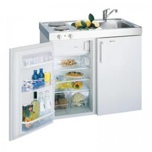 Kompaktküche Spüle rechts