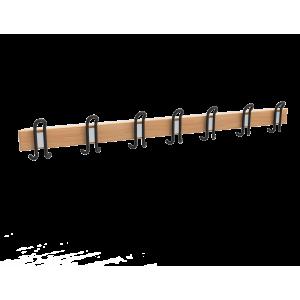 Garderobenleiste 72x1500x21mm