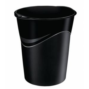 Corbeille à papier noire