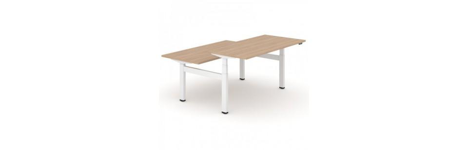 TABLES DE BUREAUX ASSIS DEBOUT - PROMERKA.COM