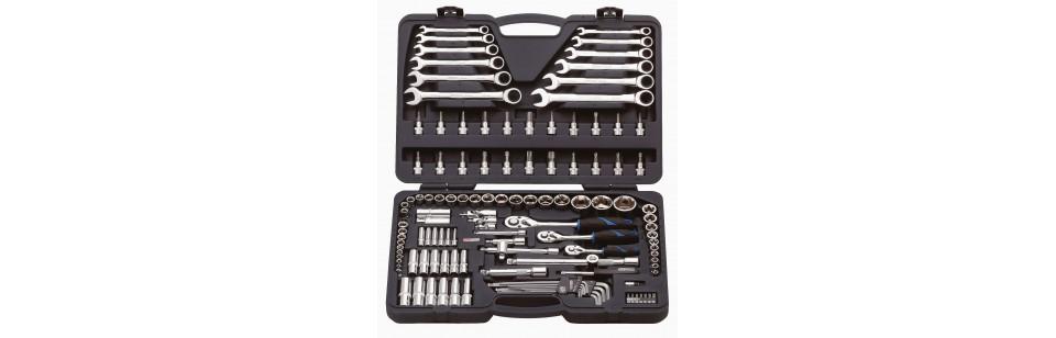 OUTILLAGE  BUSINESS & INDUSTRIES PROMERKA.CH Set de tournevis BEAVER Set d'outils, 21 pièces Set de 109 outils, avec malette